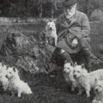 The 16th Laird of Poltalloch (circa 1905), and his Poltalloch Terriers