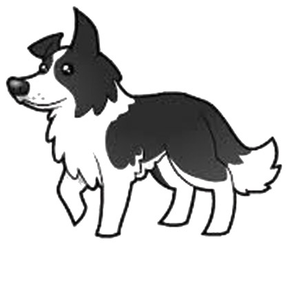 Border Collie Clipart | Canine Chronicle