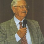 Julius Wipfel during '40 years of the Eurasier' in 2000