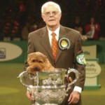 Peter Green with Ch. Cracknor Cause Celebre (Coco)  BIS Crufts - 2005