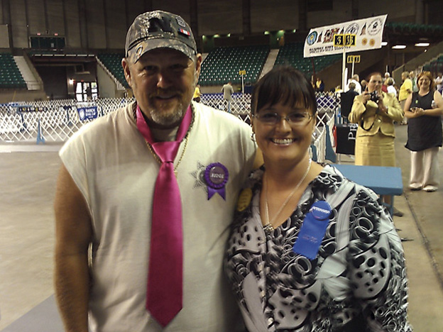 Sandi �Larry the Cable Guy and the producer in Topeka