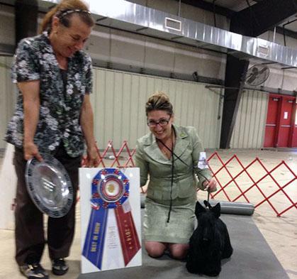 Jeanne Walker Dog Show Judge