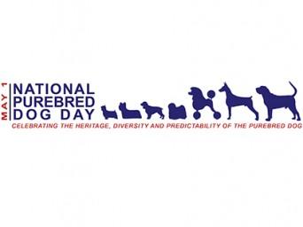 National Purebred Dog Day Logo