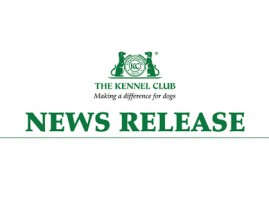 Kennel Club News Release