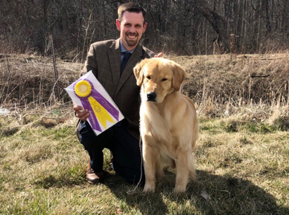club canin golden retriever